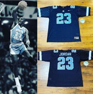 Jordan Jersey North Carolina Nike Black Champion Bulls Rare SZ-2XL