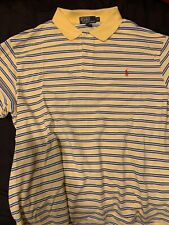 Ralph Lauren Polo - Yellow,White And Blue Striped
