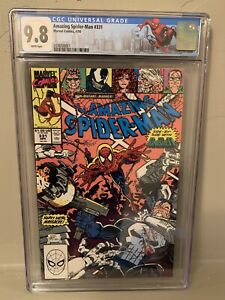 Amazing Spider-Man #331 CGC 9.8 Punisher Erik Larsen Limited NY City Label