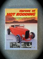 HEROS OF HOT RODDING Book by DAVID FETHERSTON - 1992 - MOTORBOOKS INT'L - NEW