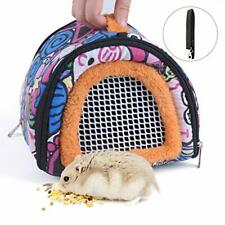 New listing Crowny Hamster Carrier Bag- Small Animal Portable Breathable Assorted Colors