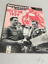 Motorcycles and Scooters 210 1959 Bowl Gold, Gp France, 250 Royal Enfield Etc