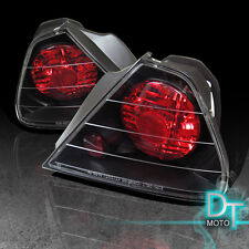 Black 98-02 Honda Accord 2Dr Altezza Tail Brake Lights Lamps Left+Right Pair Set
