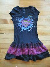 Super Girl Supergirl Superman Casual Punk Gothic Dress