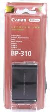 Canon BP-310 Li-Ion Camcorder Battery New In Package.