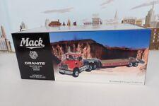 1st Gear 1/34 Scale No.19-3298 Mack Granite Tractor & Lowboy Trailer Mack #M1350