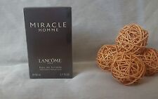 LANCOME MIRACLE homme eau de toilette 50ml spray, rare