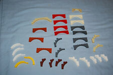 Old Lego 2x Brick Arch Pont Bow 1x5x4 Mix of 2339 76768 Brown ...