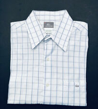 Lacoste Men's Long Sleeve Button Down Shirt Made in France Size 42 - L