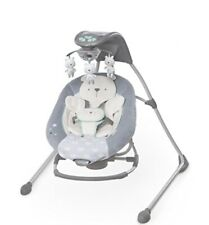 Ingenuity DreamComfort InLighten Cradling Swing- Bear