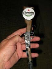 beer tap handle diecast  heineken rifle