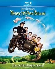 NANNY MCPHEE RETURNS New Sealed Blu-ray Emma Thompson