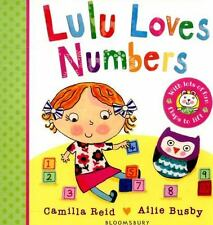 LULU LOVES NUMBERS - REID, CAMILLA/ BUSBY, AILIE (ILT) - NEW BOOK