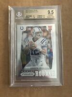 2012 ANDREW LUCK 2012 PANINI PRIZM ROOKIE RC BGS 9.5 GEM #203 COLTS