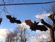 EDELROST Fledermaus Groß Flughund Tier Rost Gartendeko Edel Kunst Metall NEU
