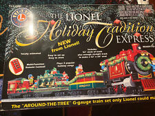 Lionel Holiday Tradition Express Christmas Tree Train 100% COMPLETE