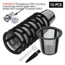 10 My K-Cup Reusable Coffee Filter Basket for Keurig B60 B70 K10 K15 K40 K55 K45
