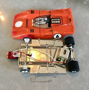McLaren With MURA Angle winder Chassis Slot Car......
