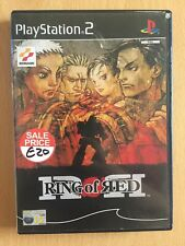 PS2 Playstation 2 Pal Game RING OF RED with Box Manual