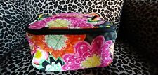 Vera Bradley Travel Cosmetic Bag in Ziggy Zinnia