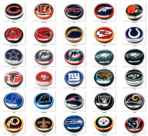 BUTTON HAT PIN NFL FOOTBALL BRAND NEW OFFICIALLY LICENSED   - YOU PICK THE TEAM