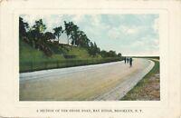 BROOKLYN NY – Bay Ridge A Section of the Shore Road - 1909