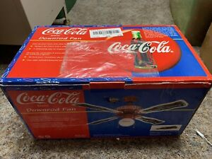 Coca Cola Ceiling Fan