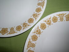 Assorted Corelle Butterfly Gold Pattern Dinnerware & Serving Pieces