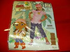DISNEY JAKE AND THE NEVER LAND PIRATES IZZY TODDLER HALLOWEEN 3T-4T