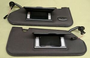Sun Visors,C6 Corvette,2005-2013,Pair,Sun Shades,New,With Homelink Remote