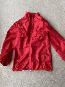 Lightweight Nike Junior Golf Jacket 12-13 Years Red Girls Boys Youth
