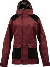 BURTON Women's ASTER Snow Jacket - Biking Red - Large - NWT