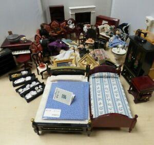 Job Lot Dolls House Furniture, Dolls + Accessories BND3