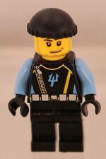LEGO: MINIFIG: AQUARAIDER: Diver #4 - Black Knit Cap