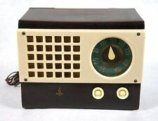 Beautiful Restored 1940s Emerson 520 Torrtoise Shell Catalin Radio Flamed Out!