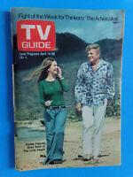 Shelly Fabares Brian Keith  April 14-20 1973 Chicago Metropolitan Edition