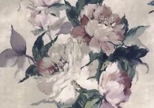 1703-108-01 - Camellia Large Bold Flowers Ivory 1838 Wallpaper