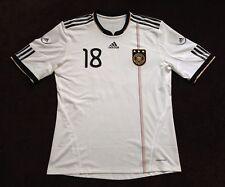 DFB Matchworn Deutschland Spielertrikot adidas XL Formotion Gomez 2010