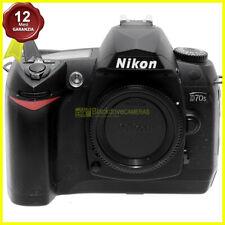 Nikon D70s corpo fotocamera digitale reflex usata. Macchina fotografica. D70s