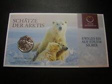 5 Euro Österreich 2014 Schätze der Arktis - Ewiges Eis Silber W/17/1004