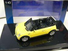 1/43 Autoart mini cooper s cabriolet (amarillo)
