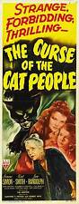 THE CURSE OF THE CAT PEOPLE Movie POSTER 14x36 Insert Simone Simon Kent Smith