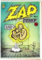ZAP COMIX #0, 1st Print (UNTRIMMED), Robert Crumb, 1967, UNDERGROUND COMIC