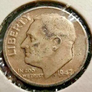 1947-D 10c Roosevelt Dime