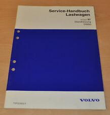 Volvo DW80 Standheizung  LKW Lastwagen Truck Werkstatthandbuch