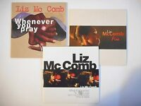 Unique Lot de 3 CD Single ▬ LIZ Mc COMB ▬ Port GRATUIT
