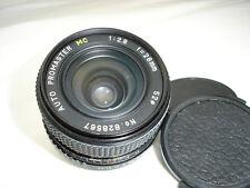 PROMASTER MC 28mm F2.8 Lens , for Pentax K ( PK )  mount cameras SN828567