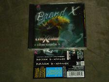 Brand X X-Files A 20 Year Retrospective Dbl CD Japan Pierre Moerlen Percy Jones