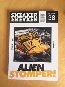 sneaker freaker issue 38 magazine reebok alien stomper