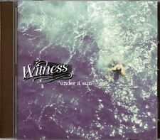 Witness - Under A Sun (2001 CD) New & Sealed